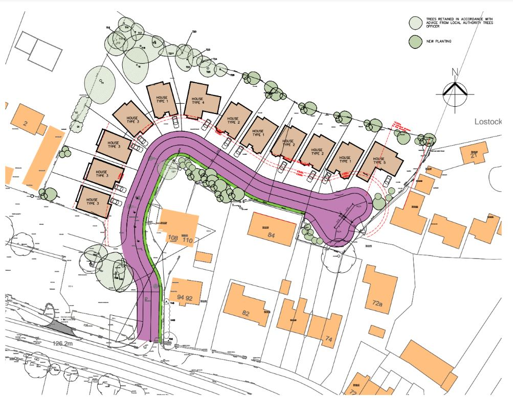 Developers' plans for Chorley Road site