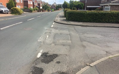 Calls for repairs to Daisy Hall Drive and France Street junction