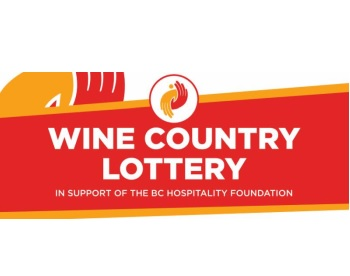 Buy BC Wine Country Lottery for BC Hospitality Foundation