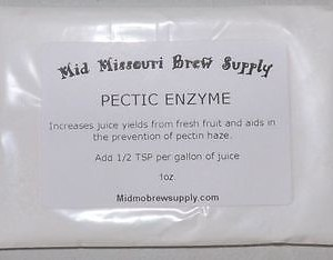 PECTIC ENZYME for Wine Making, 1oz. Free Shipping!!!