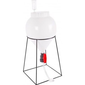 FastFerment 3 Gallon Conical Fermenter Homebrew Beer Wine Making