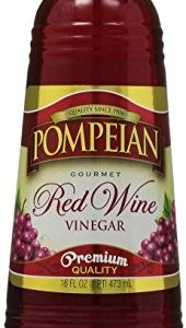 Pompeian Red Wine Vinegar, 16 oz