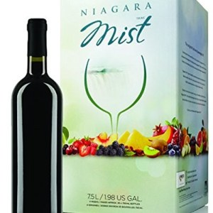 NIAGARA MIST Wine Kit – Black Cherry – Makes wine in 4 weeks