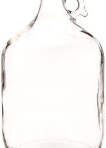 1 Gallon Glass Jug Home Brewing Bottle Beer Wine Making Kit Moonshine Carboy