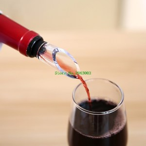 4 in 1 Stainless Steel Wine Chiller Stick Aerator Drip-Free Pouring Wine Stopper