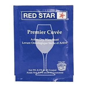 Dry Wine Yeast - Redstar Premier Cuvee (5 g) (Pack of 10)