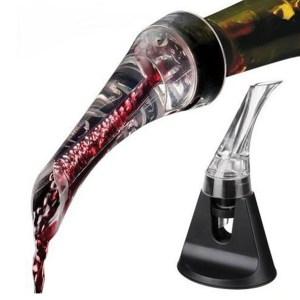free shipping newest creative wine Pouring mini travel wine aerators wine stopper kitchen living decoration