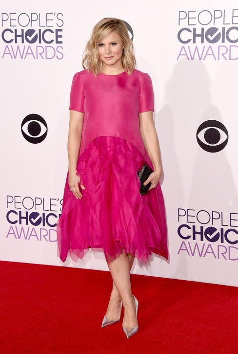 kristen-bell-pink-monique-lhuillier-peoples-choice-awards-2015-h724