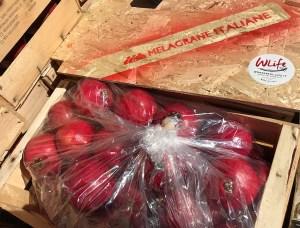 Melograno fresco - Cassetta di Melagrane italiane da 14 kg ideali per spremute