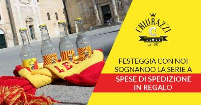 Il Lecce ritorna in Serie B, festeggia con Chiurazzi! Spedizione Gratuita