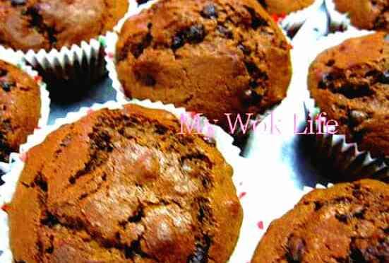 Chocolate Chip and Macadamia Nut Muffins