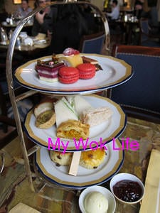 Afternoon Tea @ The Lobby at The Peninsula Hotel, Hong Kong