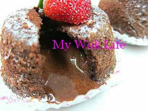 Rum Raisin Chocolate Lava Cake Pudding (冧酒提子心太軟)