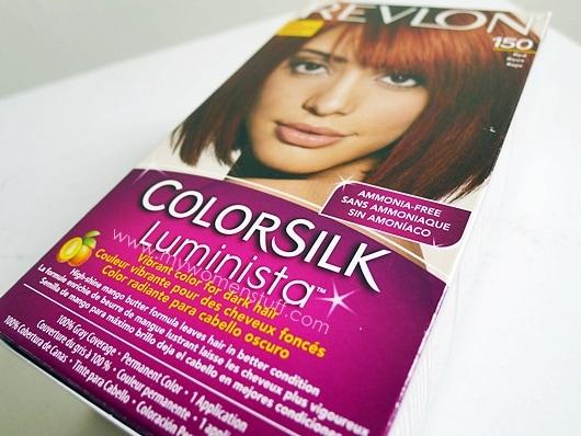 Revlon Colorsilk Luminista An Ammonia Free Home Hair