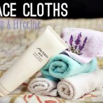 Tip: Use a Face Cloth for cheap, effective cleansing and brighter, clearer skin