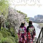 Fulfilling Wanderlust : Some practical Japan travel tips for Tokyo and Kyoto