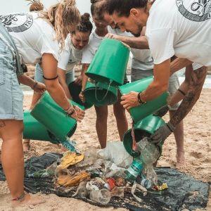 plastic ruimen waddeneilanden