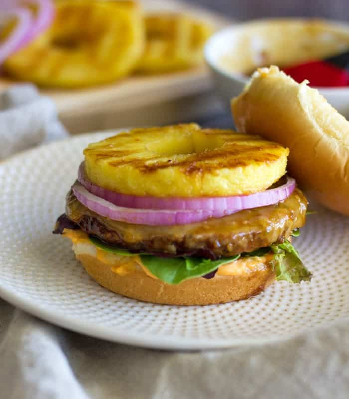 Make this Teriyaki Turkey Burger for your Memorial Day BBQ or when you are in need of a quick and easy weeknight meal!