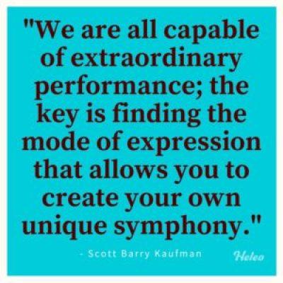 Your Own Unique Symphony - Scott Barry Kaufman