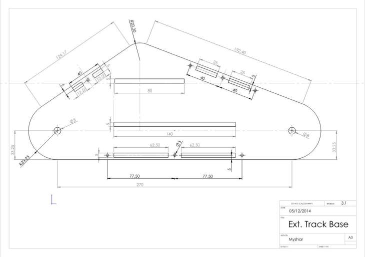 External Track Base