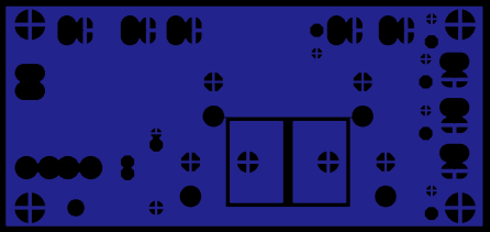 Power Distribution PCB without serigraphy