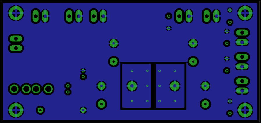 Power Distribution PCB Bottom