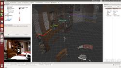 RGB PointCloud + 2D LaserScan