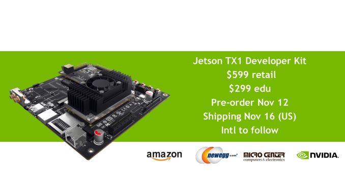 Nvidia Jetson TX1 prices