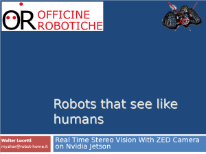 Robots That See Like Humans