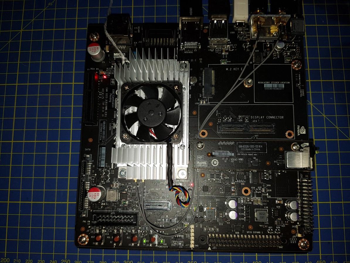 Nvidia Jetson TX2 Dev kit just unpacked