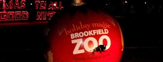 Zoo Lights Chicago Brookfield Zoo