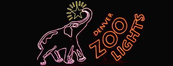 Brookfield Zoo Holiday Lights 2017