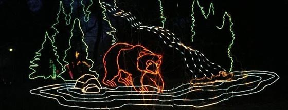 Zoo Lights Hogle Zoo
