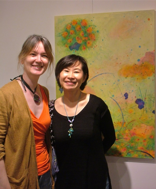Michelle Zacharias and Joei Lau