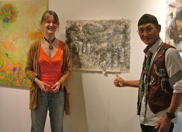 Michelle Zacharias and Takeshi Ishikawa