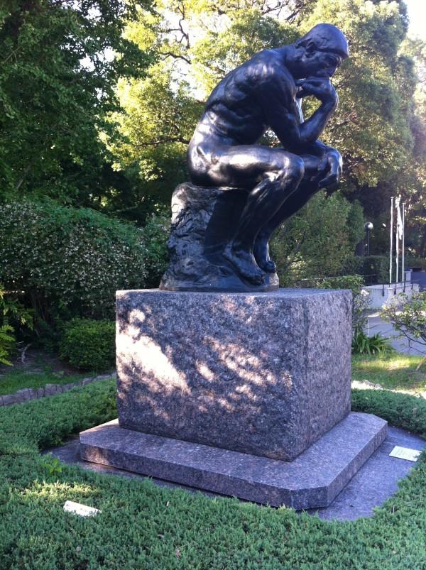 The Thinker Auguste Rodin Bronze