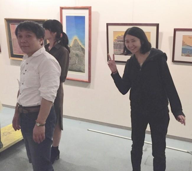 (L-R) Koken Murata, Guest, and Yuko Hirata