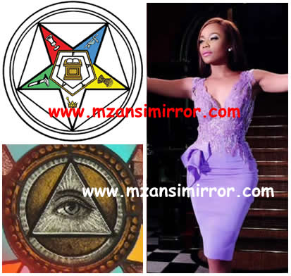 Bonang Matheba And South African Celebrities Who Are Illuminati Members