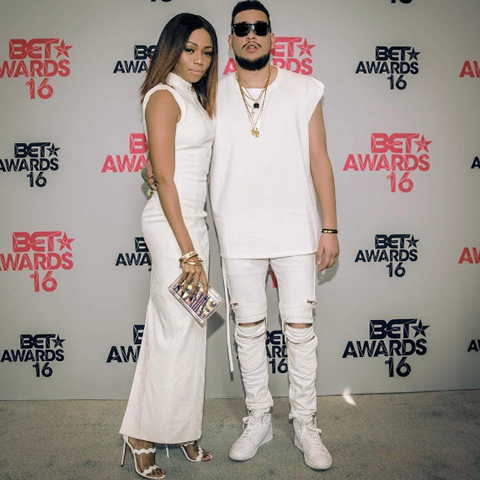 AKA and Bonang Matheba BET Awards 2016