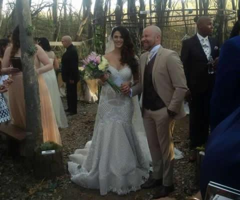 Clint Brink and Steffi van Wyk wedding photo