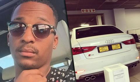 Ntokozo Dlamini buys new car