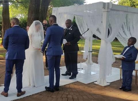 Walter Mokoena And Nosizwe Vuso's Wedding In Photos
