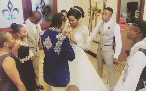 Caster Semenya's Wedding
