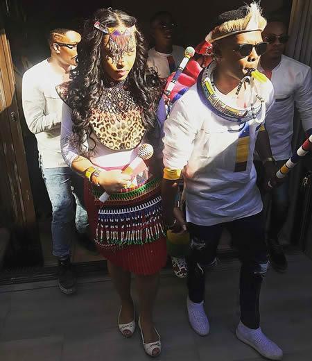 Dumi Masilela and Simphiwe Ngema traditional wedding