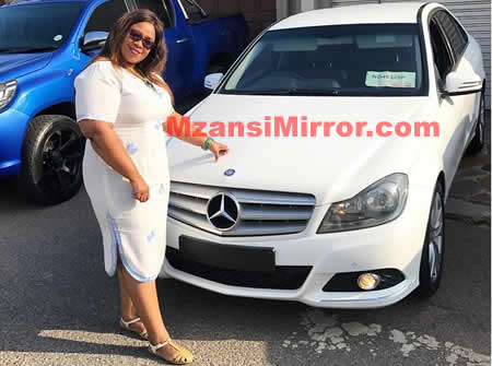 Junior De Rocka buys mother brand new car Mercedes-Benz
