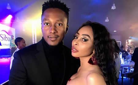 Khanyi Mbau and boyfriend Tebogo Lerole