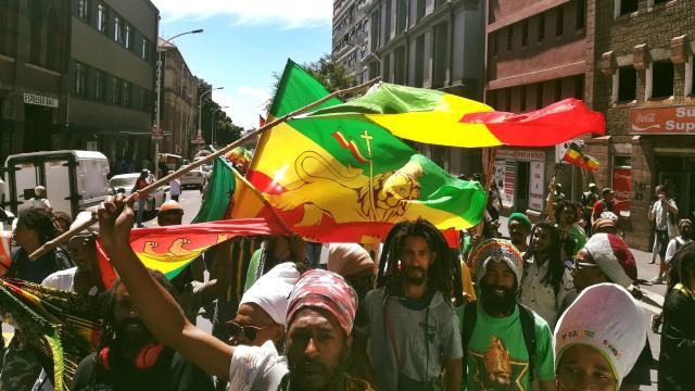 Rasta Nation March - Battle of Adwa