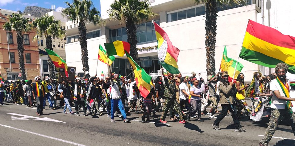 Rasta Nation March - Battle of Adwa