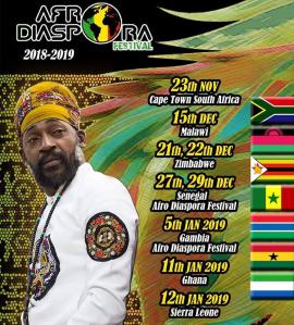 Afro Diaspora Festival Lutan Fyah