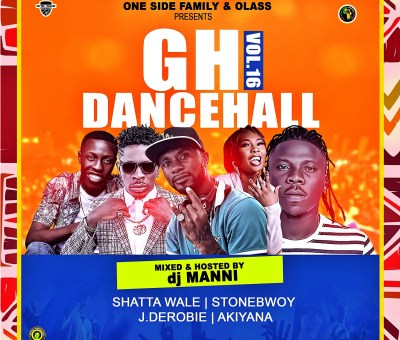 DJ Mani Gh Dancehall vol 16